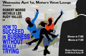 How-To-Succeed-In-Business...At-Mother's-Poster