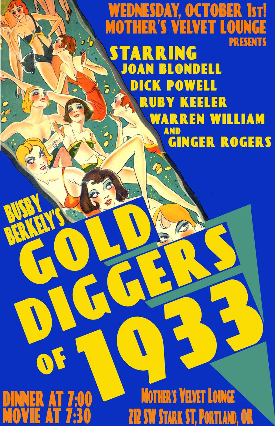 Gold Digger Of 1933
