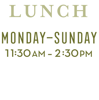 Lunch Hours